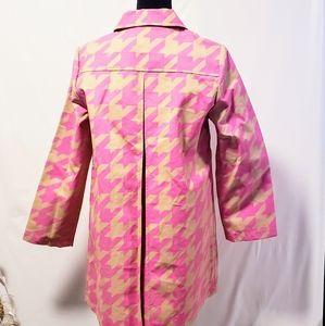Isaac Mizrahi Jackets & Coats - 💥Host Pick💥Isaac Mizrahi houndstooth coat  M🦄💋